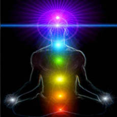 Chakras in colours